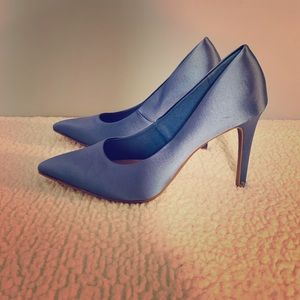 Dusty Blue Heels